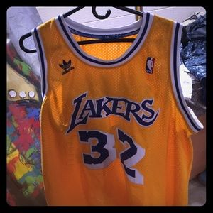 Lakers vintage magic Johnson Jersey for sale 1e53480dd
